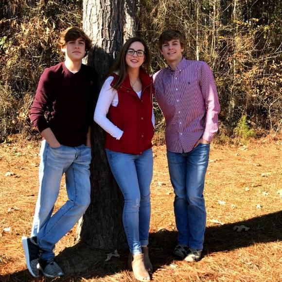 Love Tree Jackets & Blazers - Love Tree Red Vest